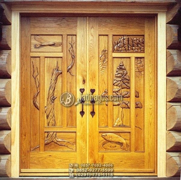 Ukiran Pintu Rumah Terbaru