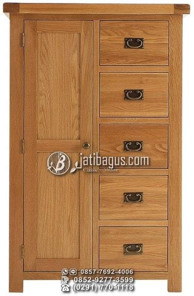 Lemari Pakaian Pintu 1 Minimalis