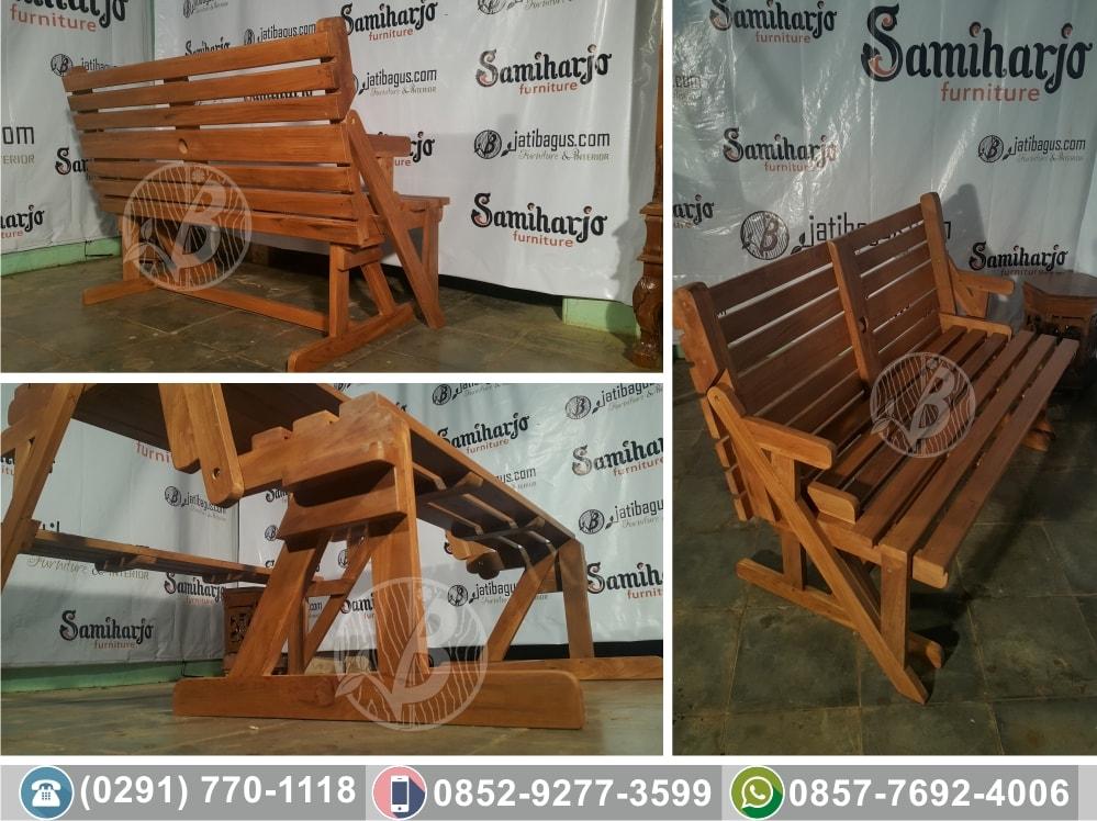 Kursi Meja Kayu Untuk Taman