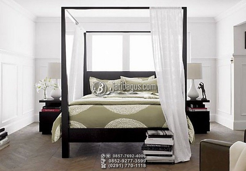 Tempat Tidur Kelambu Minimalis