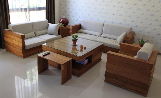 Kursi Tamu Sofa Minimalis Jati Murah