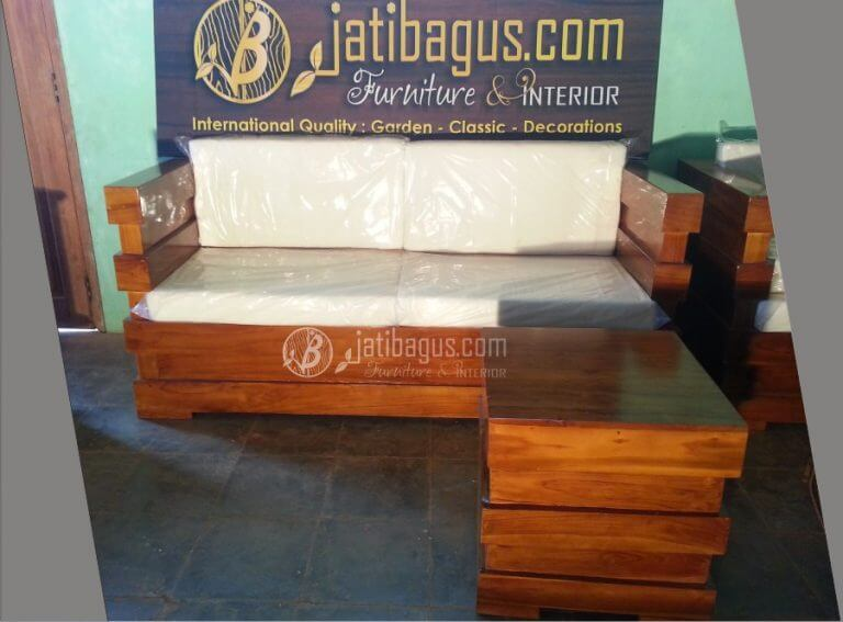 Kursi Tamu Sofa Minimalis Jati ke Probolinggo