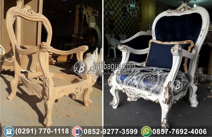 Kursi tamu sofa ukir Aceh