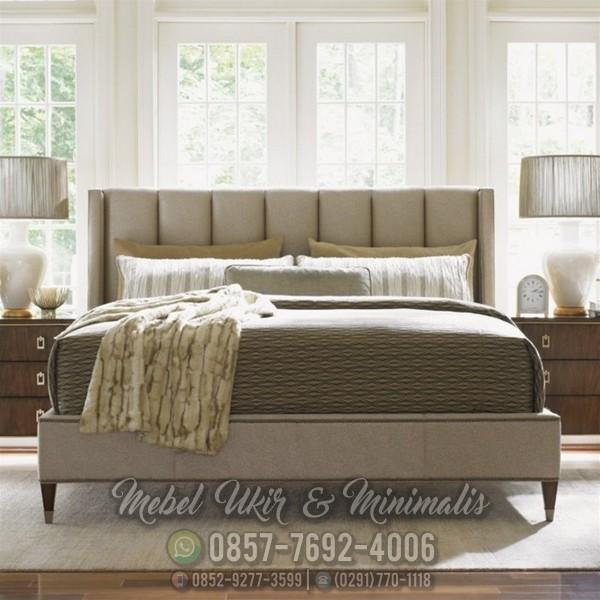 Jual Tempat Tidur Minimalis Modern Terbaru Kayu Jati Murah