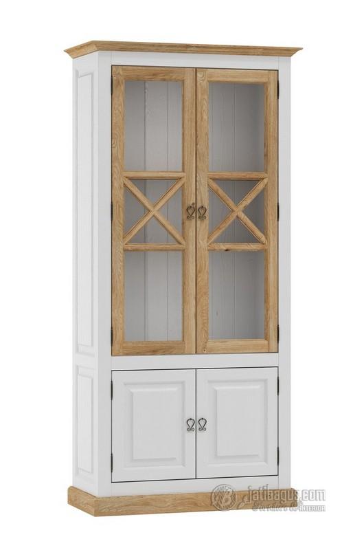 Jual Lemari dapur minimalis kayu solid murah